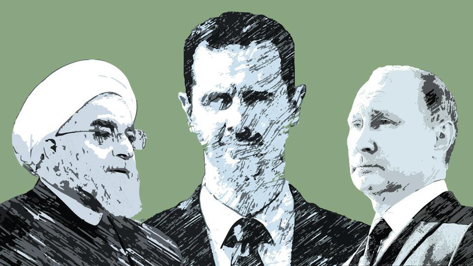 نقش ایران در ورود روسیه به جنگ داخلی سوریه