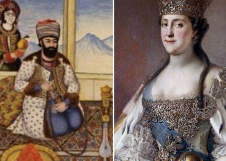 درخواست یاری کاترین کبیر از پادشاه زند علیه عثمانی