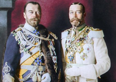 وقتی رهبران روسیه و انگلیس پسرخاله میشوند