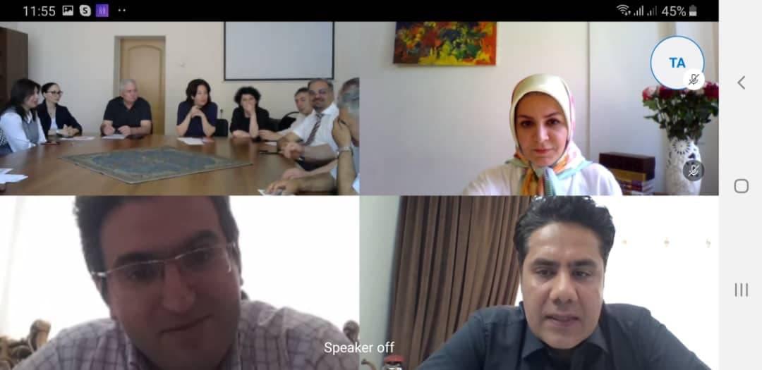 سخنرانی اعضای شورای علمی ایراس در کنفرانس علمی «از فردوسی تا پوشکین»