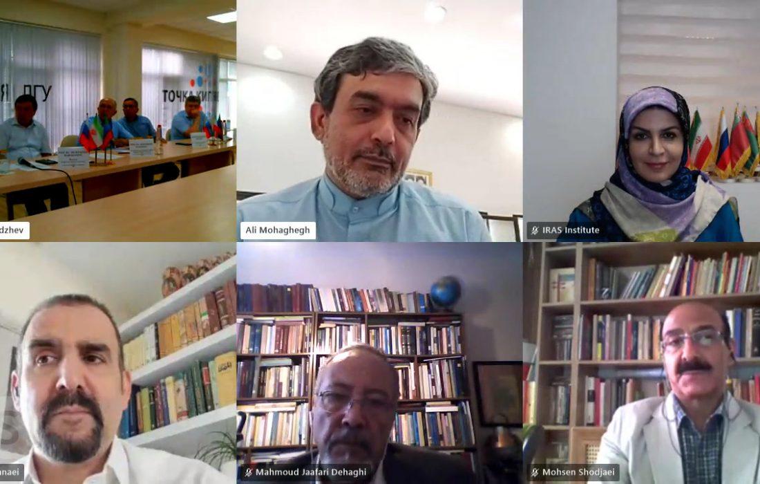 بررسی همکاری دوجانبه موسسه ایراس و دانشگاه دولتی داغستان