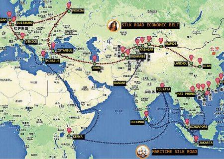 نقش ابرپروژه کمربند راه ابریشم جدید در وقایع افغانستان