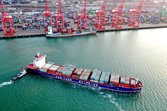 رشد ۵۰ درصدی تجارت چین و آمریکا