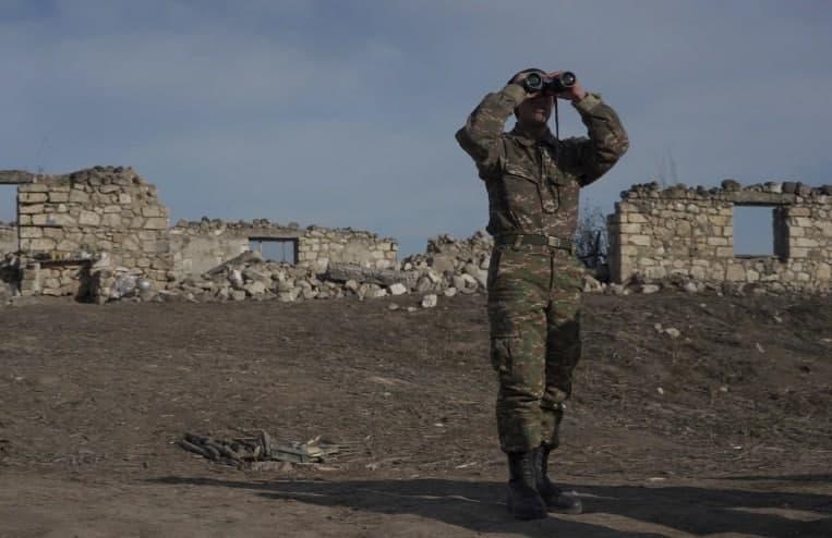 پیشروی ارتش آذربایجان درون خاک ارمنستان