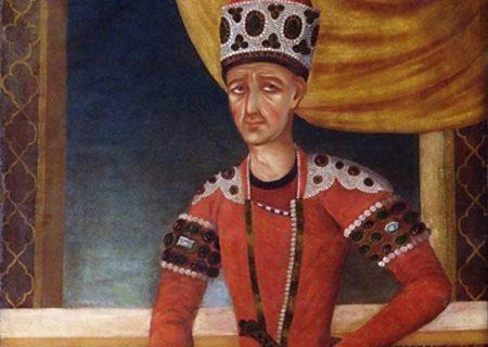 مرگ شاه قاجار به دلیل خربزه و نجات جان شاعر کتابخوان