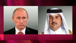 گفت و گوی پوتین و امیر قطر درباره برگزاری جام جهانی فوتبال