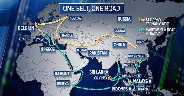 ایران از جاده ابریشم کنار گذاشته شد؟!