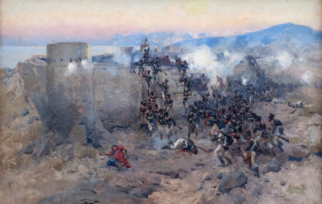 نبرد لنکران؛ پیروزی روسها با هزینهای گزاف / مقاومت و جانفشانی سربازان ایرانی قلعه لنکران دربرابر قوای روس