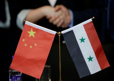 طرح ۴ بندی چین درباره سوریه